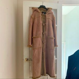 Jackets & Blazers - 😻 Long camel shearling coat 😻